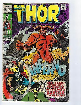 Mighty Thor # 176 Marvel No Reserve