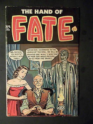 The Hands Of Fate      # 10             (1952)   Comics