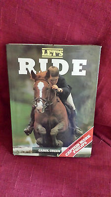 Let's RIDE  Learn About Horse Pony  BOOK Jumping  Carol Green Capt Mark Phillips