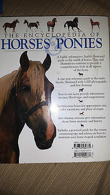 ENCYCLOPEDIA of HORSE & PONIES   1000 Pictures!  BOOK Tamsin Pickeral    2005