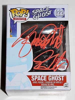 George Lowe Signed Nycc Invisible Space Ghost Funko Pop Figure Autographed +Coa