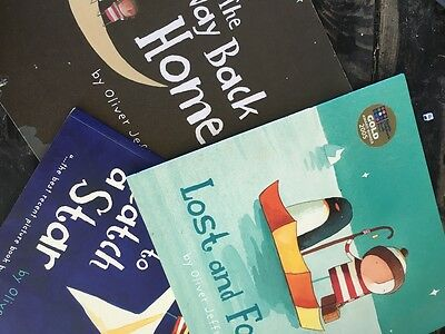 Lost and Found by Oliver Jeffers plus two more books