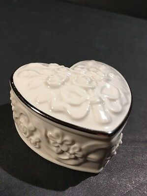 Lenox Heart Shaped Box Wedding Promises Collection