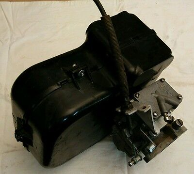 Vintage Walbro WF Carburetor with Arctic Cat Whisp-purr box and throttle cable