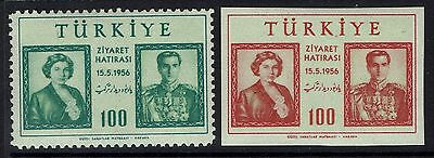 Turkey SC# 1208 and 1209, Mint Very Lightly Hinged - Lot 101616