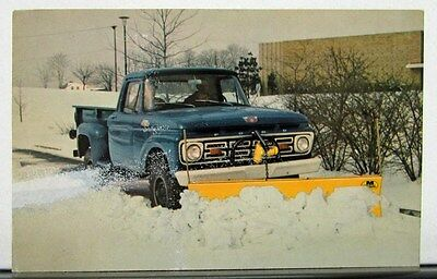 1960 1961 1962 1963 1964 1965 Ford Truck Model F 100 250 Meyer Snow Plow Mailer