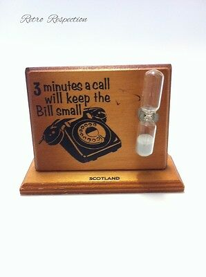 VINTAGE Telephone Call Timer - Comic