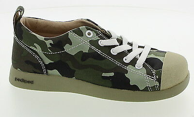 New With Box Boy's PEDIPED Green Laces Casual Shoes Size 6-12