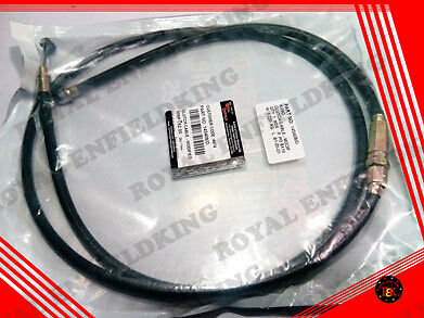 2 PCS - GENUINE Brand New Royal Enfield  CLUTCH CABLE 145408 4 SPEED