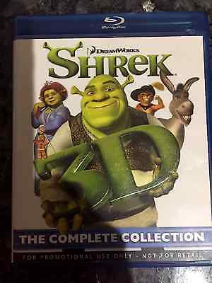 Shrek 3D Movie Collection of all 4 Movies (Blueray)
