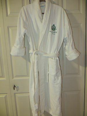 Vintage  White  Terry  Robe  The Beverly Hills Hotel
