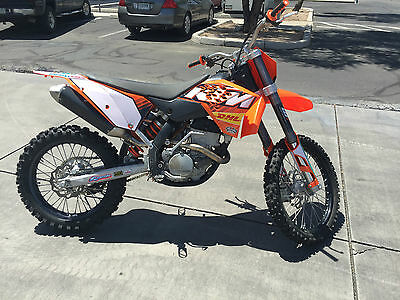 2007 Ktm Sx  2007 Ktm 250 Sx-F Four Stroke Motocross Off-Road Clean & Runs Strong $1.00 Nr!