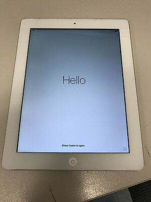 Apple iPad 4th Generation 32GB, Wi-Fi, 9.7in - White Tablet