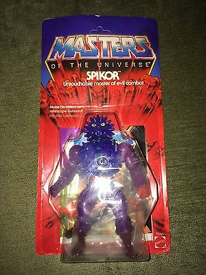 1984 He Man/masters Of The Universe Figures Spikor Carded/sealed/moc.