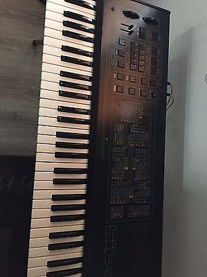 Synth Analogic 6 Voices CRUMAR BIT 99 - PERFECT !!!