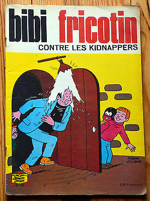 Bibi Fricotin contre les kidnappers (n°38) • 1973
