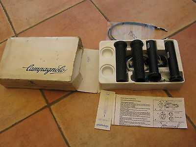 Campagnolo Bullet Shifter 3 X 8 Speed Made In Italy Nos