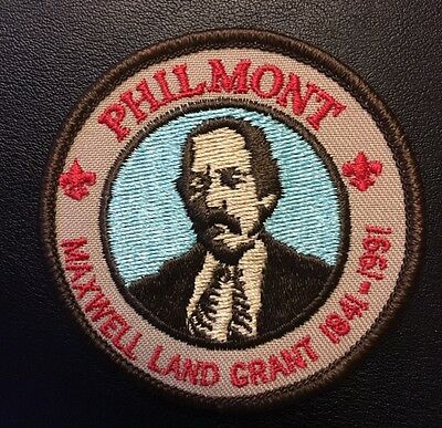 Philmont Scout Ranch Maxwell Land Grant 1991 over gauze back Mint
