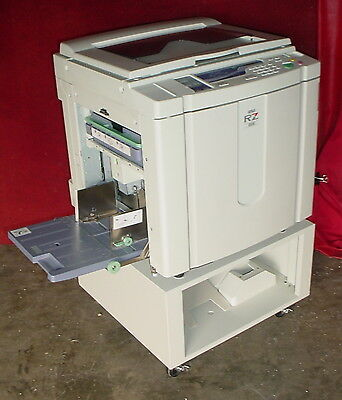 Riso Risograph RZ 220UI High Speed Duplicator RZ220UI  #4