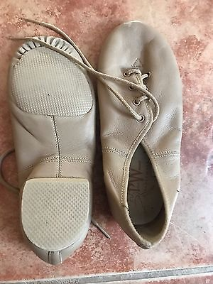girls jazz shoes Size 1.5 As New