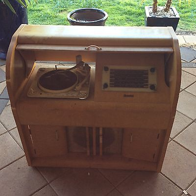 Vintage Radio Gramophone Player
