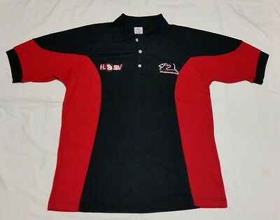 HOLDEN RACING TEAM HRT HSV SHORT SLEEVE POLYCOTTON POLO SHIRT SIZE LARGE Cap
