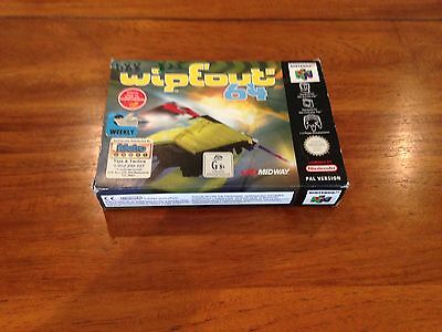 Nintendo 64 Wipeout 64 Boxed Game and Manual