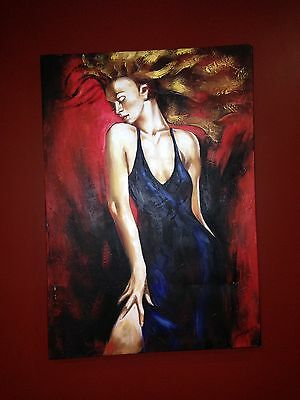 Oil On Canvas Painting