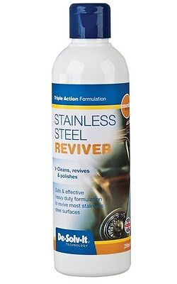 Brand New De-Solv-It 1052 250ml Stainless Steel Reviver