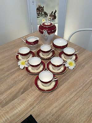 Aynsley Coffee Set In Excellent Condition
