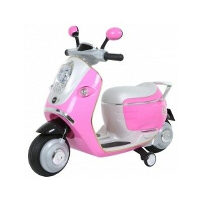 Mini Cooper Electric Scooter Ride On Pink