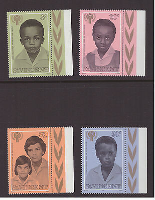 St Vincent 1979 Year of the Child  mint set MNH stamps SG570-573