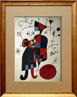 MIRO - signed old watercolor !!!