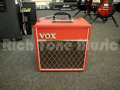 Vox AC4C1 Combo Guitar Amp - Limited Edition Red - 2nd Hand