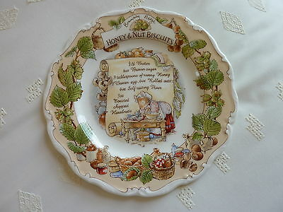 Royal Doulton Brambly Hedge Honey And Nut Biscuits Plate 1St Quality Rare