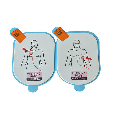 5 Pairs /Pack AED Training Replacement Pads, For AED Lifeline Trainer