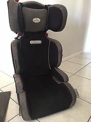 Infa-Secure car seat with mat for under the seat to protect car seat