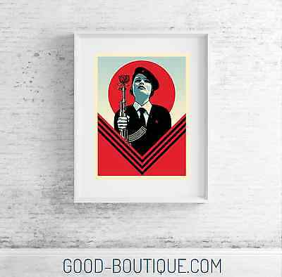 Shepard Fairey・Obey Giant・Peace Guard 2・Signed AP ・Print Not Holiday 2016 People