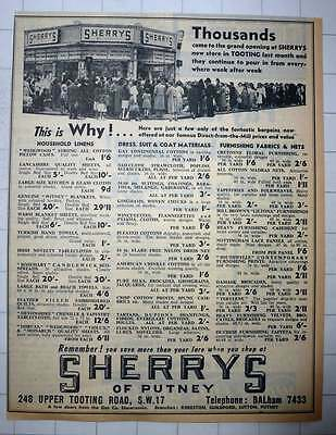 1960 Thousands At The Grand Opening Of Sherry's Of Putney