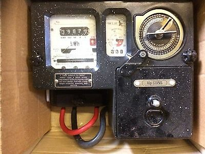 Coin Operated Electric Meter