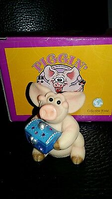 "Piggin Pigs  -  ""Piggin Treasure"" 2004 Original Box."