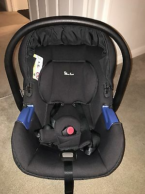 Silver Cross simplicity car seat Newborn (birth to 13kg) In Excellent Condition