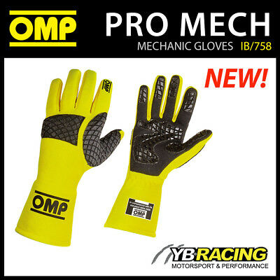 Ib/758 Omp Pro Mech Mechanics Fireproof Gloves Pit Crew Racing Motorsport