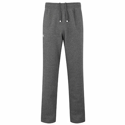 Under Armour Mens Uncuffed Storm Pants - Carbon Heather/White - Clothing