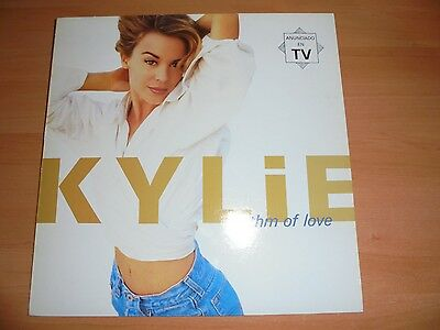 KYLIE MINOGUE Spanish lp RHYTHM OF LOVE 11 tracks 1990 Different Cover  / 17
