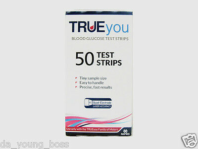 True You Blood Glucose Diabetic Test Strips TrueYou **BRAND NEW & SEALED**