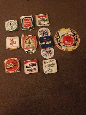 Collection/Job Lot Of 100 Beer Mats/Coasters - Lot 2