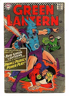 Green Lantern #45 2nd Golden Age GL in Silver Age - DC SILVER AGE 1966 GD/VG
