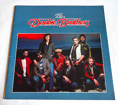 THE DOOBIE BROTHERS JAPAN TOUR 1981 CONCERT PROGRAM BOOK Michael McDonald