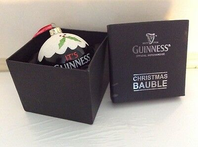Guinness Christmas Bauble - Boxed